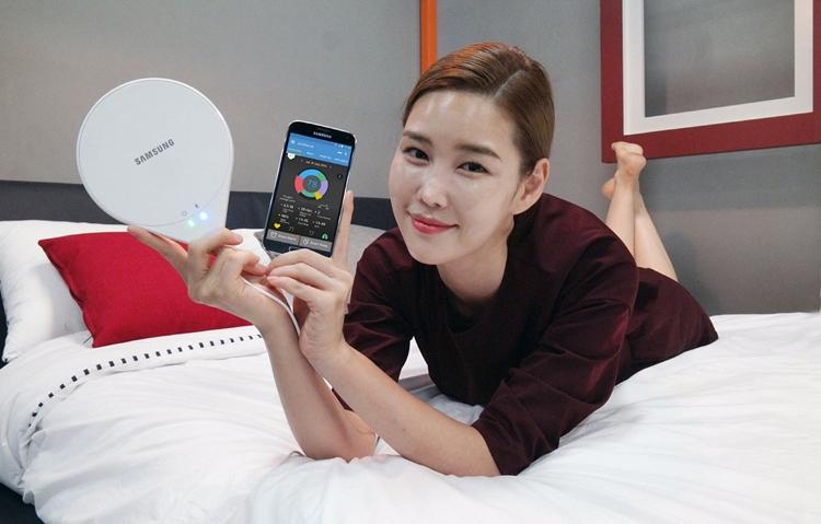 SleepSense Samsung нацелен на улучшение обстановки в спальне