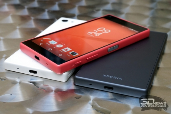 """Sony Xperia Z5 Compact Premium: смартфон с 4 Гбайт ОЗУ и экраном Full HD"""""""