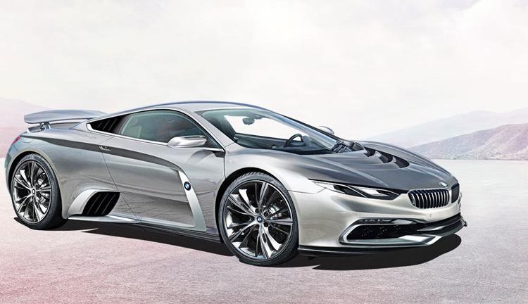 Концепт-арт суперкара BMW