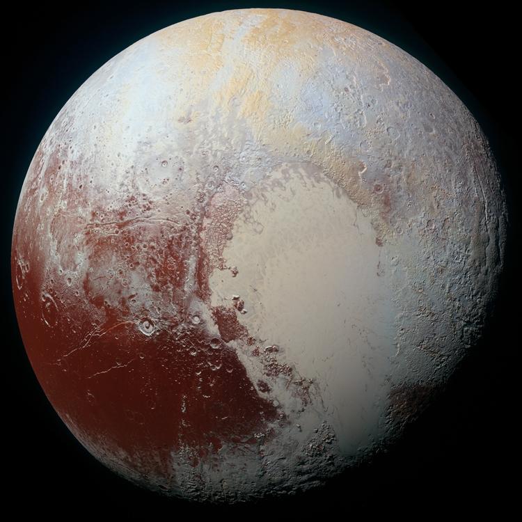 NASA опубликовало цветную фотокарточку Плутона высочайшего разрешения