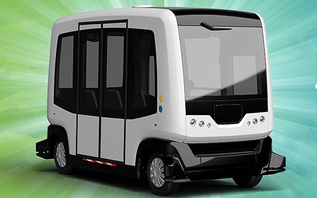 """На дороги общего пользования Нидерландов выезжают беспилотные мини-автобусы"""""""