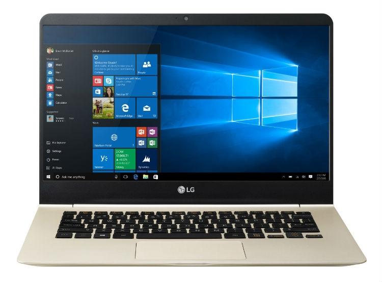 14-дюймовый ноутбук LG Gram весит меньше килограмма