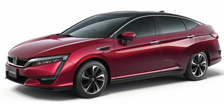 Honda представила водородный седан FCV