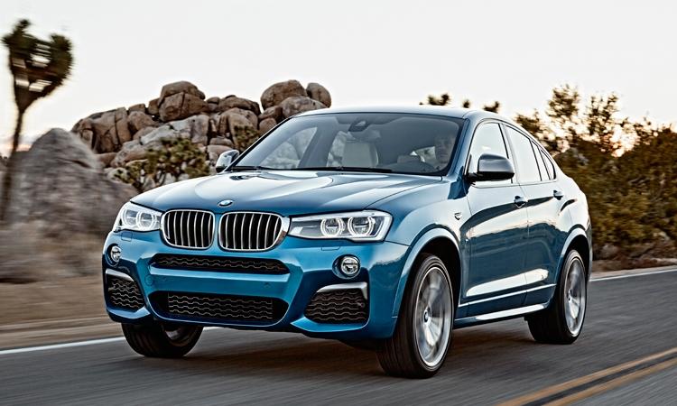 BMW рассказала о купе-кроссовере X4 M40i