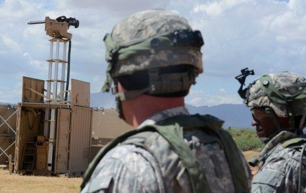Американская армия проводит испытания автоматизированных орудийных башен