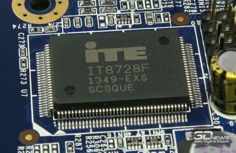 Контроллер управления и мониторинга системной платы iTE IT8728F