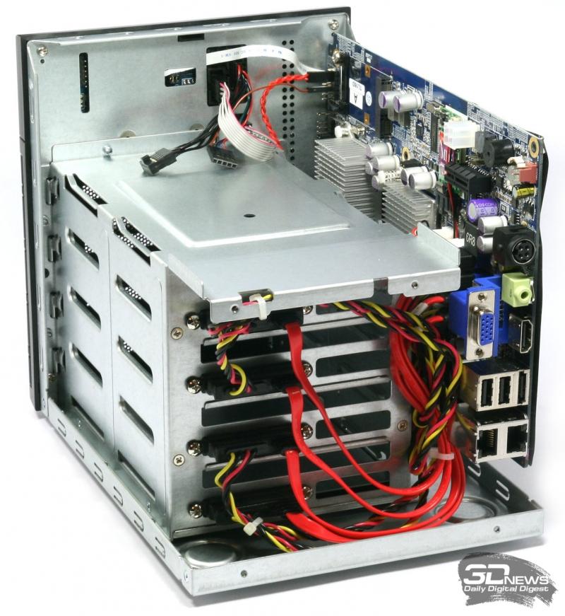 Укладка кабелей внутри корпуса