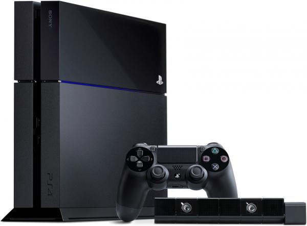 Sony PlayStation 4 с PlayStation Eye в комлпекте