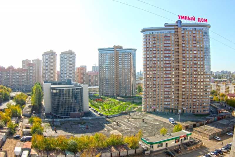 В Уфе построили первый в России жилой комплекс из «умных» многоэтажных зданий
