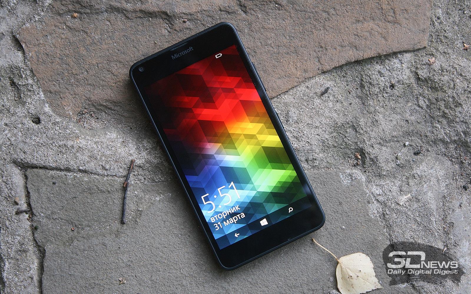 Обзор смартфона Microsoft Lumia 640 LTE DS: ты у меня первый