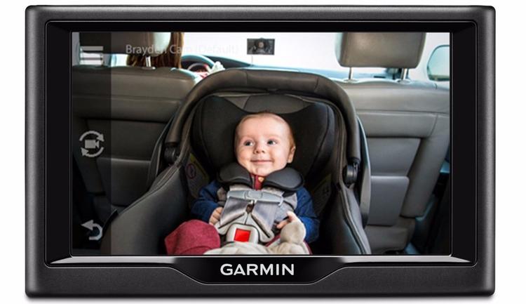 """Garmin babyCam: автомобильная камера для мониторинга детей"""""""