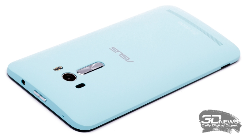 ASUS Zenfone Selfie – расположение кнопок и разъемов