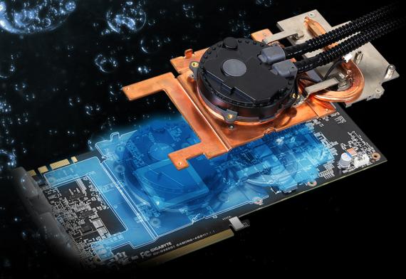 GIGABYTE WaterForce охлаждает не только графический процессор