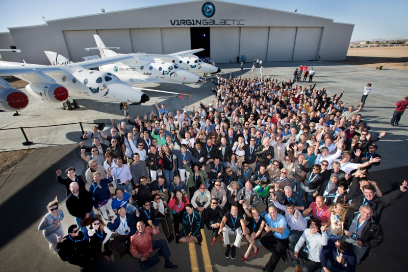 Будущие пассажиры SpaceShipTwo, которые внесли депозит за оплату своего полёта. Фото Virgin Galactic