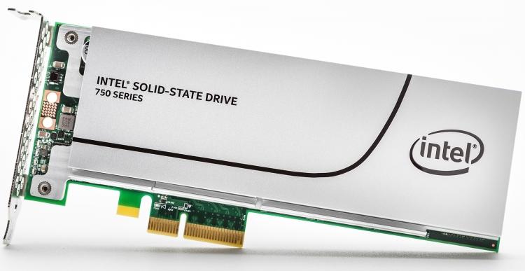 SSD производства Intel