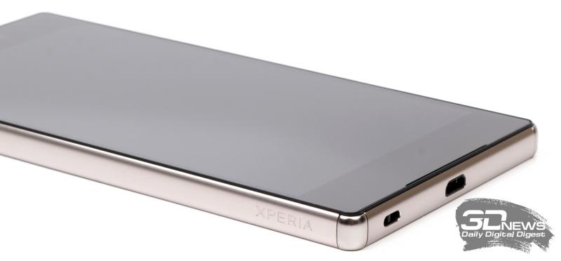 Sony Xperia Z5 Premium – защитная вставка из поликарбоната