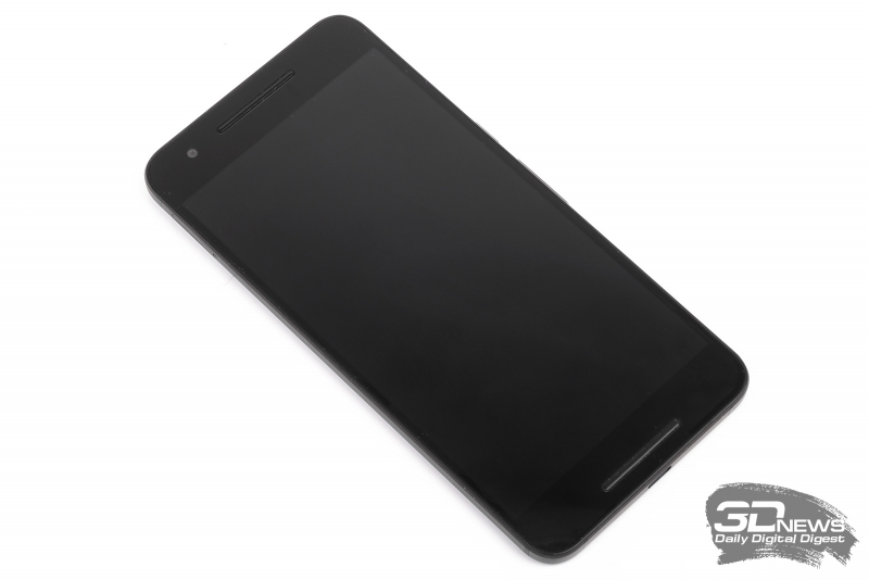 Huawei/Google Nexus 6P – лицевая панель