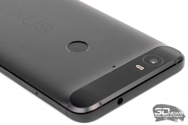 Huawei/Google Nexus 6P – сканер отпечатков пальцев