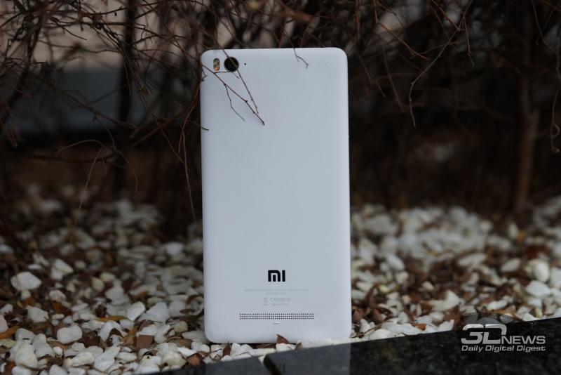 Xiaomi Mi 4i, вид сзади