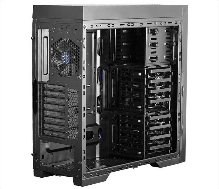 Корпус Cooltek Skall обеспечивает установку до одиннадцати вентиляторов на  ...