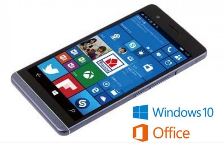 EveryPhone — самый тонкий смартфон на Windows из Японии