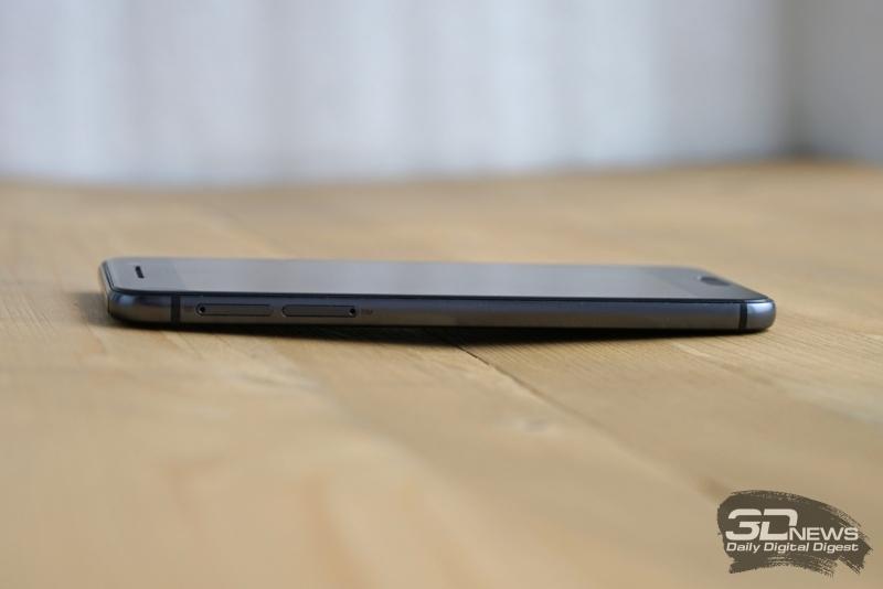 HTC One A9, ����� �����: ��� ����� � ��� nanoSIM � ����� ������ microSD