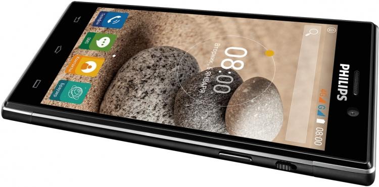 Philips Xenium V787: смартфон с батареей на 5000 мА·ч представлен в России
