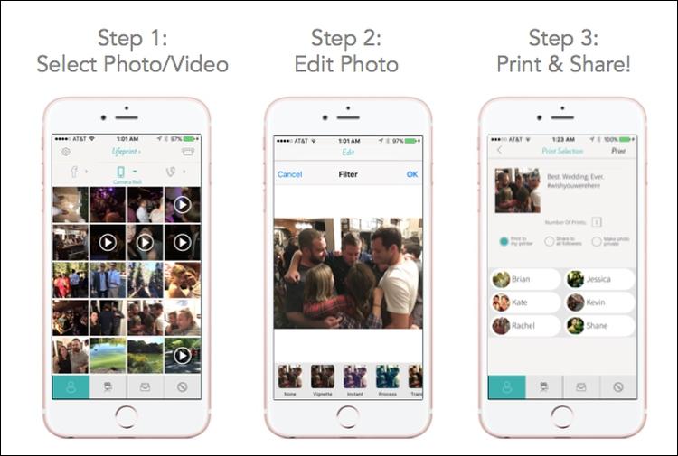 """Принтер LifePrint позволяет создавать фотографии дополненной реальности"""""""