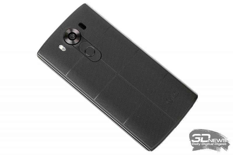 LG V10 – вид сзади