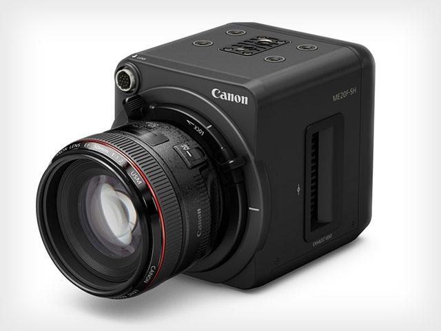 Прототип камеры Canon с чувствительность 4 000 000 ISO