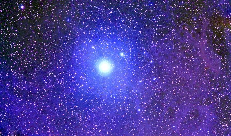 Полярная звезда, она же α Малой Медведицы
