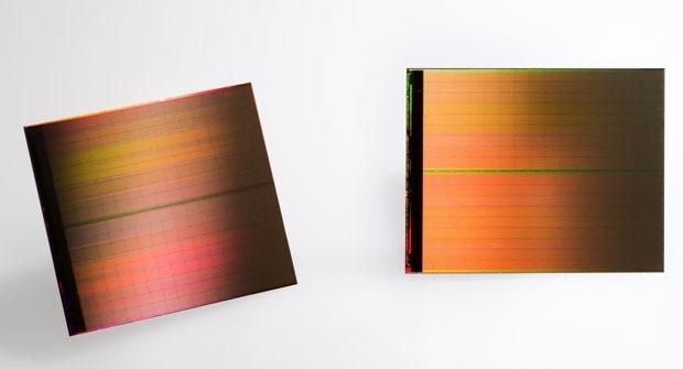 Образцы памяти 3D XPoint ёмкостью 128 Гбит (источник Intel)