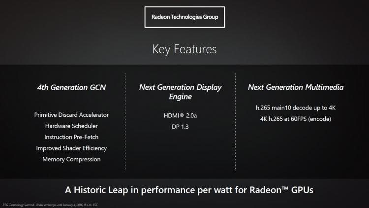 AMD Polaris: Ключевые нововведения