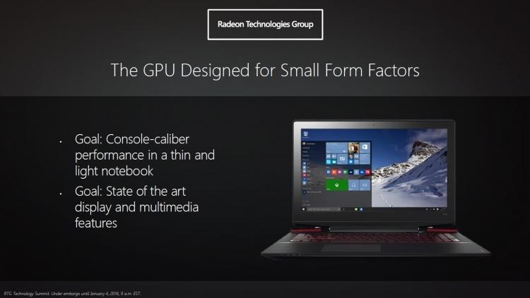 AMD Polaris: Новые форм-факторы