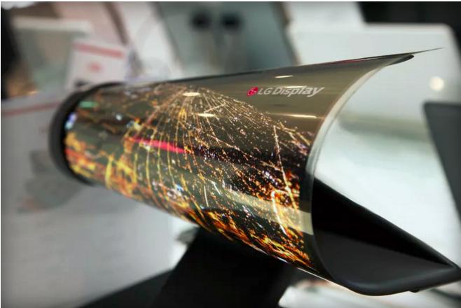 Гибкий OLED-дисплей LG