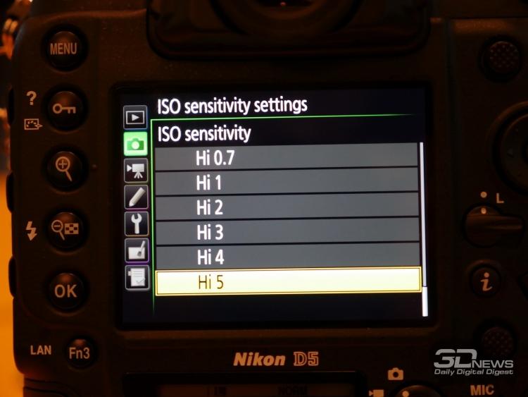 """CES 2016: Nikon представила полнокадровую зеркалку D5"""""""