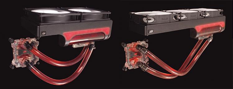 Альфа и Омега: Swiftech Drive H220 X2 и Drive H320 X2 Prestige