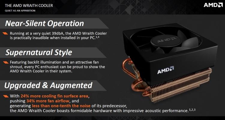 Слайд из презентации AMD Wraith