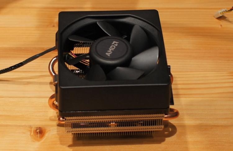 Система охлаждения AMD Wraith