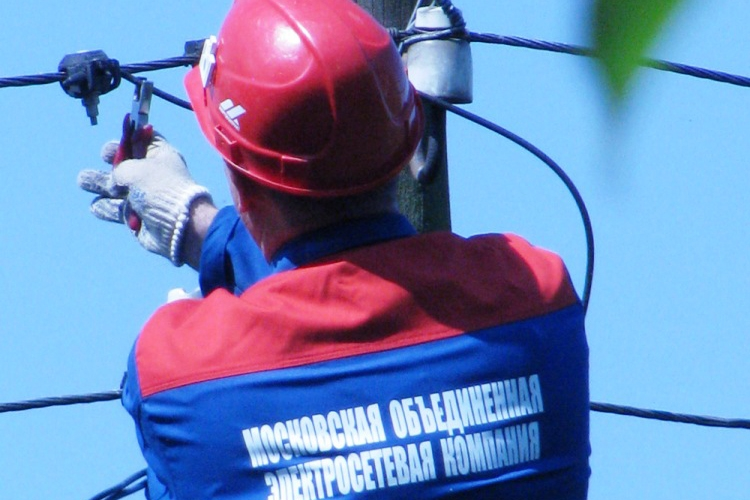 Москвичи смогут узнавать об отключениях электроэнергии по SMS