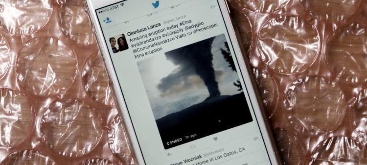 Трансляции Periscope теперь можно просматривать напрямую через ленту Twitter