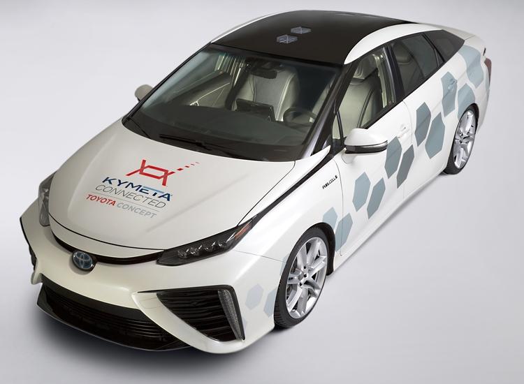 Toyota оснастила водородный автомобиль системой спутниковой связи
