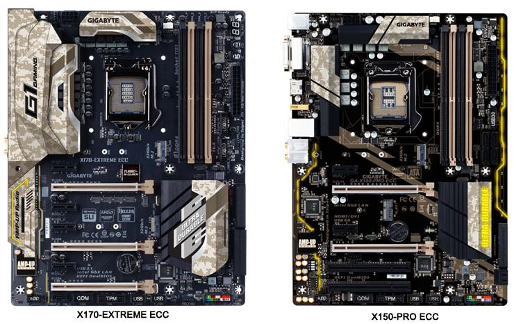 Платы X170-Extreme ECC и X150-Pro ECC