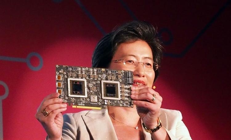 Первая демонстрация готовой печатной платы Radeon R9 Fury X2