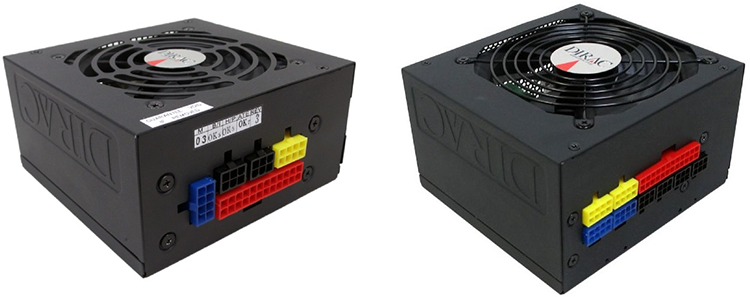 TESLA CUBE Series V1.0: SFX (слева) и ATX