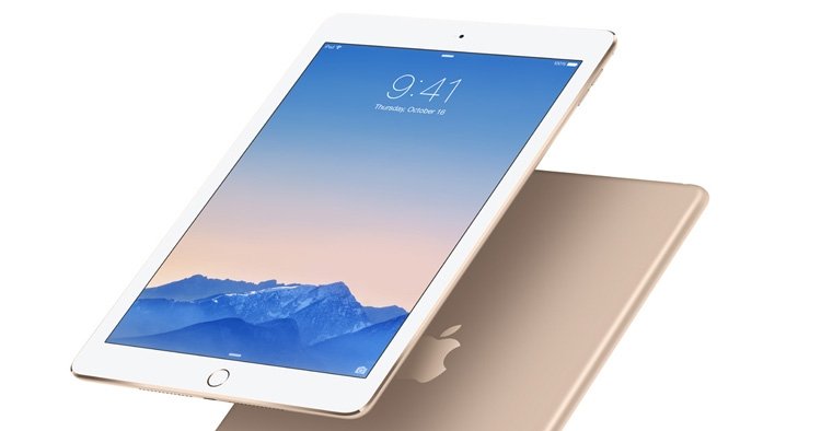 Последний раз Apple обновляла iPad Air в октябре 2014 года (на фото - iPad Air 2)