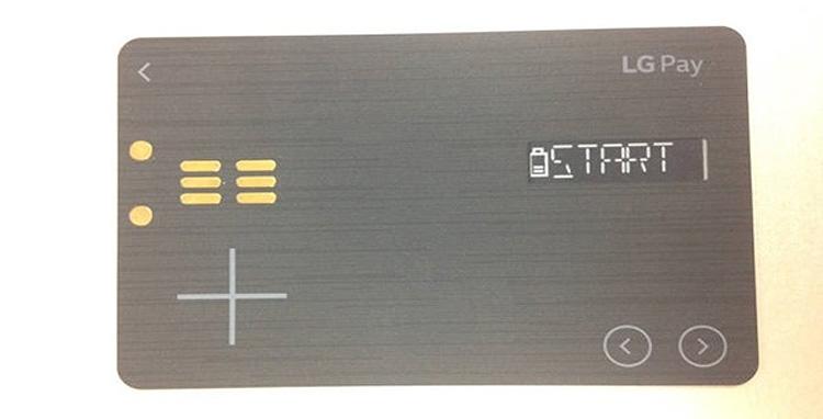 """LG Pay реализуют в виде «умной» платёжной карты"""""""