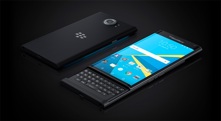 BlackBerry Priv - the first Android-smartphone company