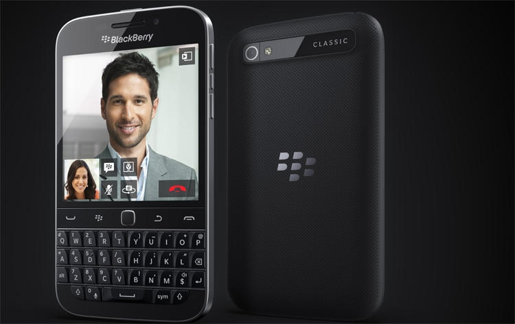 BlackBerry Classic demonstrates the classical approach to the design of the smartphone Canadian company