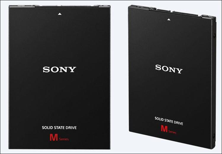 Sony SLW-M  SSDs-Especificações